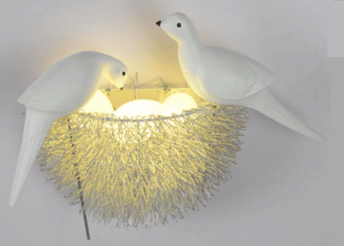 High Efficiency Modern Contemporary Wall Lights 3000K Bird Lantern Shape