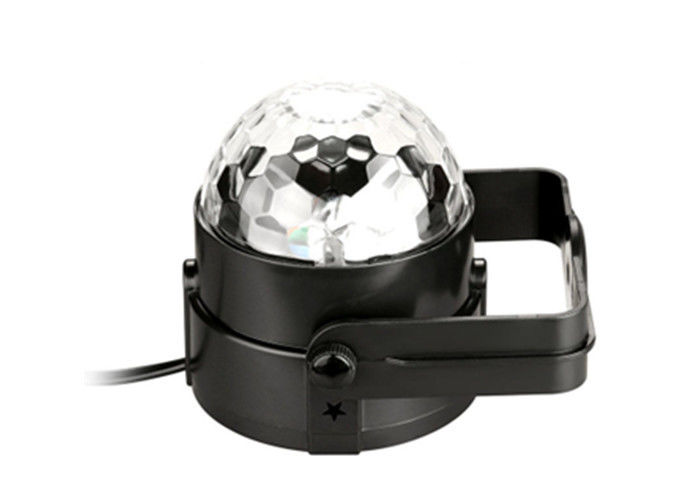 220V LED Stage Spotlights Rotating Disco Ball Light 3W Tanbaby Sound Activated